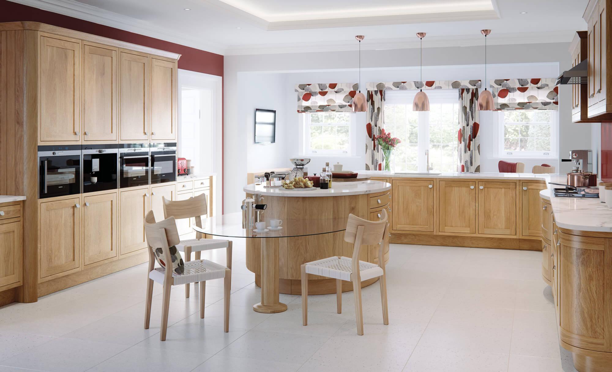 Jasper Kitchen In White Oak