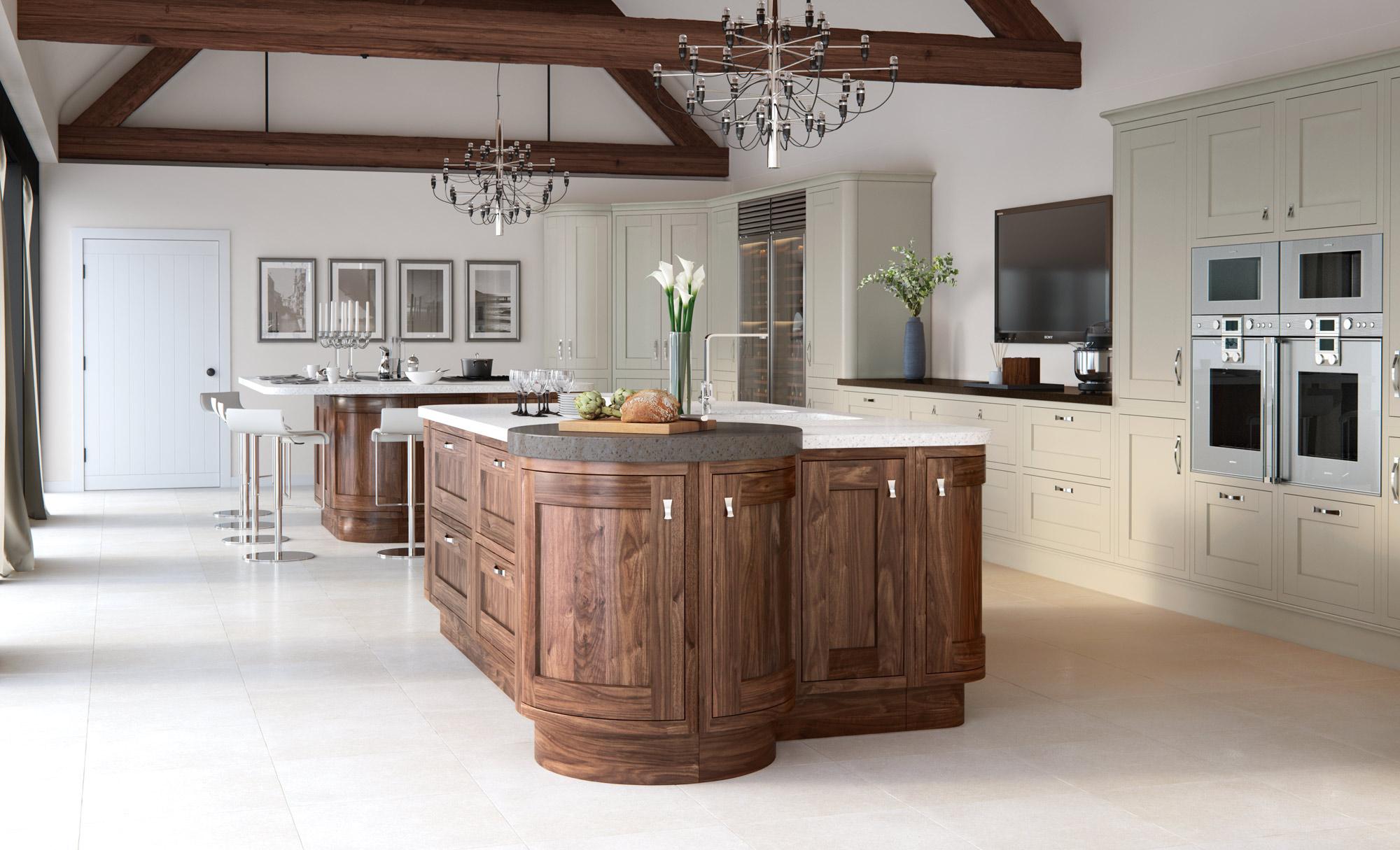 Handless Kitchen Doors Porcelain Aisling Furniture