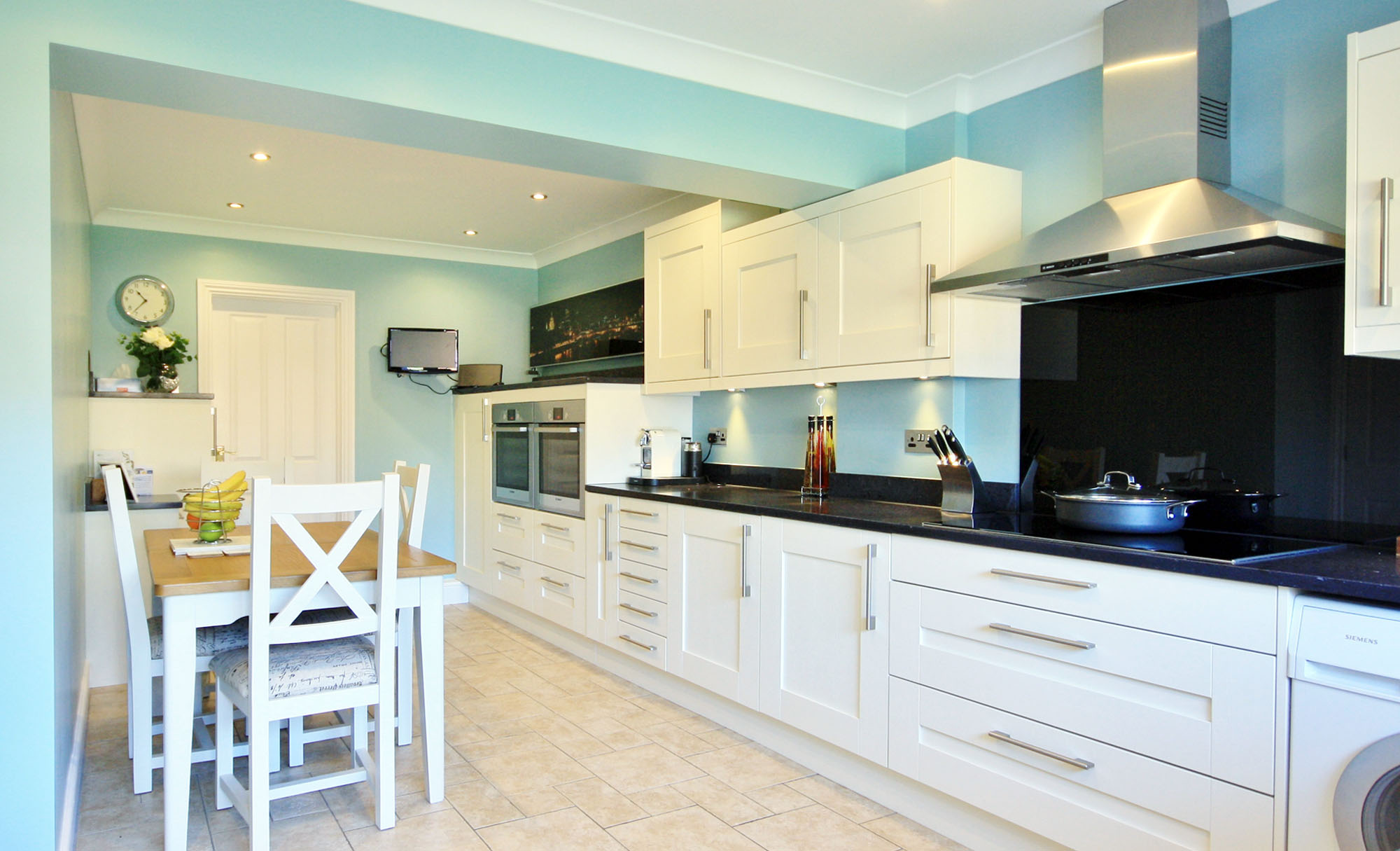 Windsor Shaker Ivory Kitchen for Mr & Mrs Nel of Chelmsford